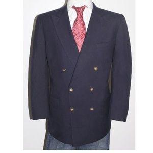 New BURBERRY Gold Logo Button Jacket Blazer